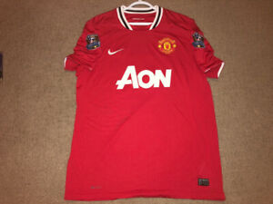 a1f6c2662 2011-2012 Manchester United football soccer jersey  15 Vidic