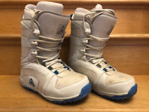 SIMS 142 cm snowboard, firefly A5 bindings, firefly size 7 boots