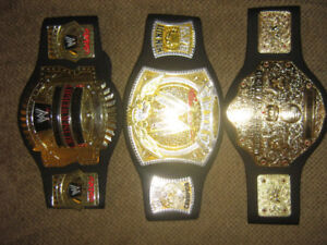 WWE WRESTLING KIDS FOAM REPLICA BELTS