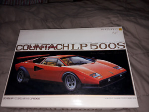 1/12 Otaki Lamboughini Countach LP500S Model Kit