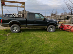 2006 Ford F250 plow truck not running