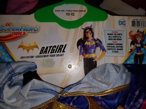 Halloween costumes -- only Batgirl available