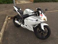 Yamaha YZF R125 125cc learner motorbike motorcycle 125r rs125 honda cbf cbr mt125 sport