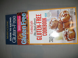 Gluten Free Recipes in Books and Magazines