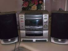 Venturer CD Mini System with dual tape deck - Model CD2610R Cottesloe Cottesloe Area Preview