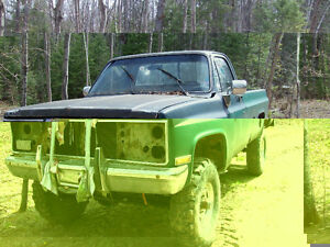 1986 GMC C/K 2500 Pickup Mud Truck for parts
