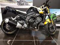 2009 YAMAHA FZ1 ABS In Yellow,Tail Tidy, Fly Screen,Frame Bobbins, Headlamp ...