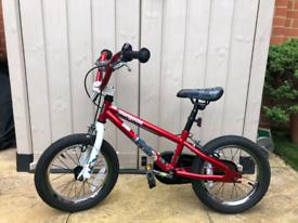 "Kids 14"" BMX bike"