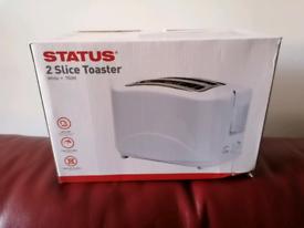Toaster 2 slice 750w New