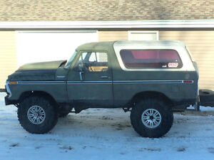 1978 Ford Bronco lifted