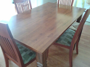 Dinning or kitchen table & chairs