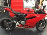 DUCATI 899 PANIGALE 2014 6200 MILES SLIPPER CLUTCH AND OVER £2000 OF EXTRAS