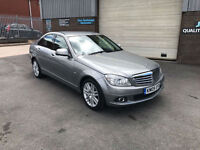 2009 MERCEDES-BENZ C200 2.1 CDI ELEGANCE SALOON,ONLY 56000 MILES WITH FSH