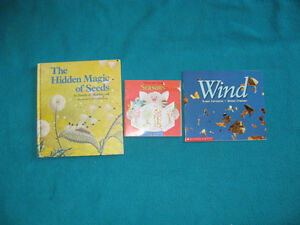 WInd and Seeds books for the Primary Reader