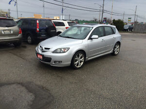 2008 Mazda 3 Wagon * Moon Roof * Curtain air bags * CERTIFIED *
