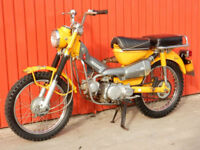 HONDA CT90 TRAIL 1970 89cc MOT'd SEPTEMBER 2018