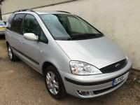 2003 Ford Galaxy 1.9TD ( 115ps ) Ghia DIESEL+ONLY 64k+FSH+TVs+Cruise