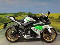 Yamaha YZF R125 2013 **Race rep with Carbon Fibre Scorpion Exhaust**