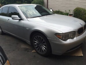2003 BMW 745i For Parts or Repair