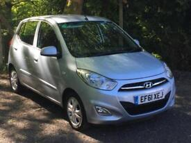 2011 '61' Hyundai i10 1.2 ( 85bhp ) Active, 5 Door Hatchback, Petrol.