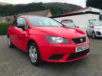 Seat Ibiza 1.2 S Sport Coupe 3dr. Cheap To Run & Insure, Finance Deals Available