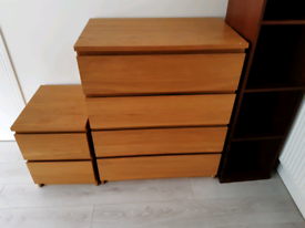 IKEA Brown Chest of drawers