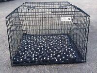 Dog cage with divider for estate car ( mondeo, Renault, Vw etc)