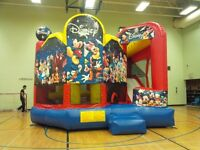 Bounce castle's, commercial inflatables, Jumps, FOR RENT