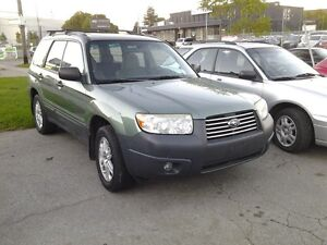 2007 Subaru Forester AWD Columbia edition