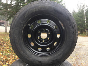 4x 2015 BlackLion Winter Tires W517