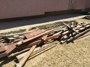 FREE wood! Must be gone by May 3rd!
