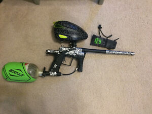 whole paintball set up must check!