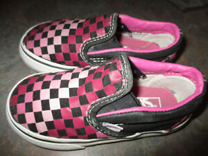 toddler Vans size 8 shoes Kitchener / Waterloo Kitchener Area image 1