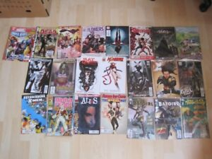 25 Comics for the collector some still in plastic covers