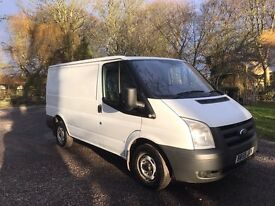 Ford transit 2010 59 plate low miles 124k