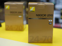 Nikon 24-70mm f/2.8G and (new arrival) 24-70 f2.8E ED VR Nikkor