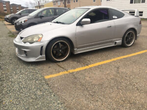 Boosted Acura rsx type s
