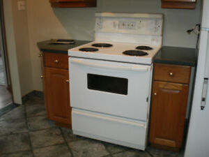 full size fridge and stove/washer and dryer