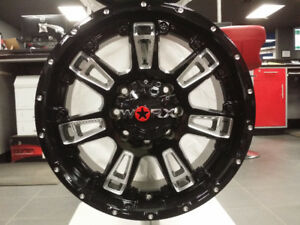 "20"" Black Alloy ( Set of 4 )"