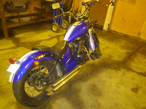Motorcycle Johnny Pag 320cc fuel injected OBO
