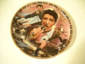 "Elvis Music 8"" Plate that plays Rockin In My Blue Suede Shoes Peterborough Peterborough Area image 1"