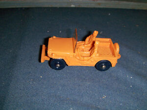 VINTAGE TONTE LAERDAL MILITARY JEEP-STAVENGER, NORWAY-RARE!