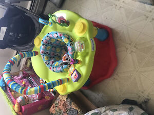 Exersaucer and Fisher Price Swing