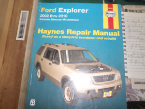 Haynes manual for Ford Explorer