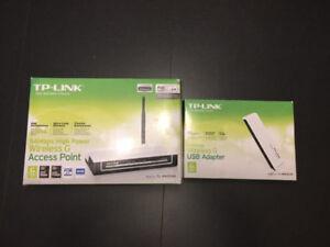 Wireless TP Link & USB Hub  NEW IN BOX