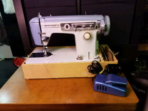 Brother Sewing Machine (Blue)