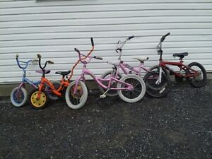 5  USED BIKES FOR SALE---$10.00 each