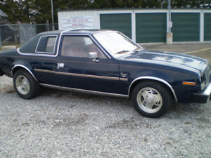 1981 AMC Concord 2dr coupe cars in Nanticoke
