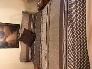New Double/queen comforter set