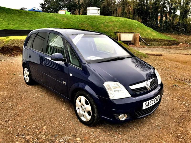 vauxhall opel meriva 1 7cdti 16v a c 2008 design in plymouth devon gumtree. Black Bedroom Furniture Sets. Home Design Ideas
